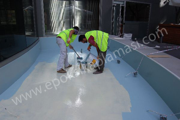 poliüretan boya zemin kaplama istanbul